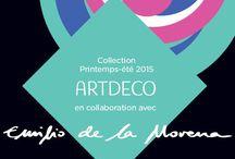 Artdeco | Emilio De La Morena / Emilio De La Morena, nouvelle collection 2015 d'ARTDECO dont la thématique porte sur les formes géométriques et l'architecture moderne.