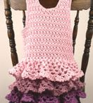 Crochet/knit tunic dress / by Froukje van Aalst