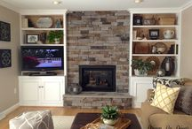 Alcoves/tv/display