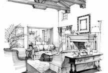 Sketching rendering