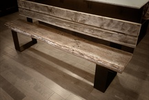 Reclaimed Benches