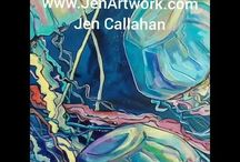 Jen Callahan www.jenartwork.com Orginals available 04-2018
