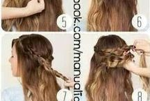 Hairdress for long hair