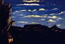 Henri Rousseau, Niko Pirosmani, Grandma Moses, Rufus Porter, Horace Pippin / Naïeve schilderkunst of wat ik daarvoor houd
