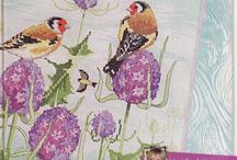 Cross Stitch Birds