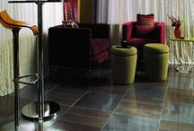 Contemporary & Fashionable Flooring / The latest looks and styles in decorating.  Presenting style-forward and modern looks to inspire creative and trendy design.