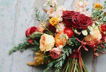 Kwiaty marsala