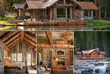 Dream home and cabin
