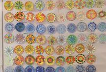 Arte a scuola (Art at school) / Lavori eseguiti dai miei alunni di scuola primaria