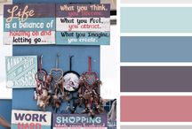 colours palette