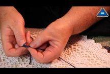 Шали и платки вязанные