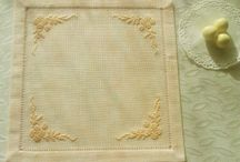 Cross stitch finishing