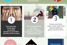 #ABiblioPréstame / Concurso polo Día do Libro que se desenvolverá do 20 ao 26 de abril nas seguintes redes sociais: Pinterest, Twitter e Instagram.
