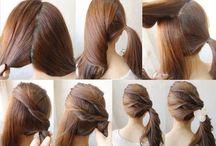Peinados: siempre lindas! / Peinados sencillos para estar lindas con poco tiempo!