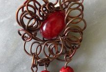 My Jewelry11 / Jewelry I made The Beauty of Curly Wire