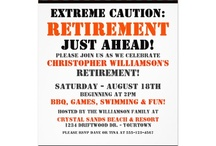 retirement party / by Trish Wehrle