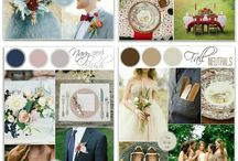 Wedding by color & season