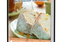 Recetario Postres fáciles para cocinar con niños / Divertidas y deliciosas recetas de postres fáciles con los que acercar la repostería casera a los más pequeños de la casa.