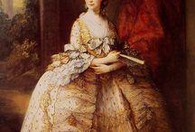 История костюма 18 век женский