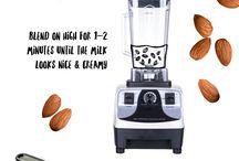 almond milkprzepisy