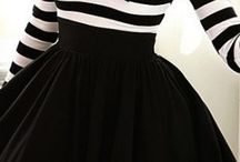 Blak and white outfit