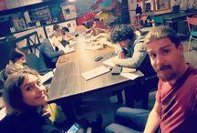Instagram Qua in #AccademiaOrwell si fanno esercizi seri!  #scritturacreativa #storytelling