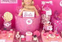 Decoración de Barbie para cumpleaños
