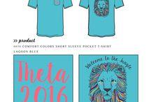 Kappa Alpha Theta / Kappa Alpha Theta custom shirt designs #kappaalphatheta #kat #kao #theta  For more information on screen printing or to get a proof for your next shirt order, visit www.jcgapparel.com