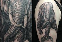 Maud Dardeau tattoo / Tatouages