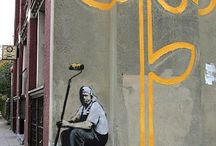 Banksy / by kendra Petty