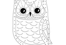 In stitches / Hand stitching and embroidery patterns