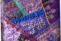 Embroidery Crazy Quilts