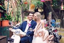 Destination Weddings / We LOVE to shoot overseas. If you want us, we want you!