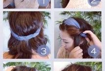 Hair - something other than the common ponytail! / Lots of lovely hair do's!