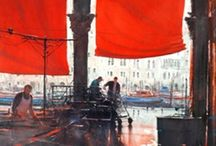 Joseph Zbukvic / Collection of inspiring watercolours by a fabulous painter. See more at the artist's website: http://www.jzbukvic.com/
