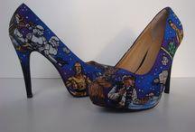 Arte en los zapatos