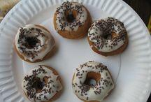 GF Donuts / Homemade donuts, yummers!!! / by Trisha MacKie