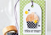 Craft ~ Halloween / All things Halloween ~ cards, packaging, tags, wrapping and gifts