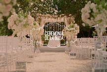 Ceremonia de la boda / Te presento todo lo que tienes que saber en relación a la ceremonia de la boda.