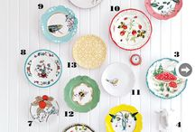 Wall Plate Obsession / Hunting for favorites for wall display...