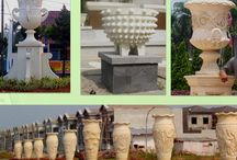 hardscape / landscape - hardscape - caststone ornaments