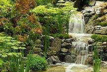 Водопады, фонтаны