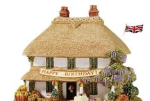 Lilliput Lane Cottages / Handmade and Hand Painted in Great Britain and known for their fine detail, quality and authenticity. https://www.a-choice-of-gifts.co.uk/giftshop/cat_1131523-Lilliput-Lane-Cottages.html