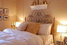 Master bedroom ideas / by Heather Mergen