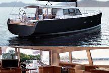 Pilot house sailing yachts