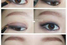 Makeup for Asian eyes  / by Mindy Anderson
