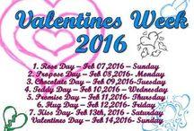 {Valentines Week 2016}
