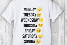 emoji trička ♥️