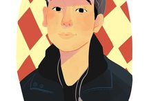 caricature / by 태인(Taein) 김(KIM)