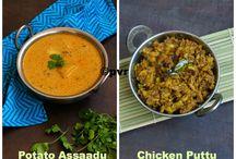 Pondicherry Recipes / Recipes of dishes from Pondicherry